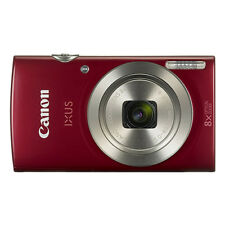 Canon IXUS 185 / ELPH 180 20.0MP Digital Camera 8x Optical Zoom Red