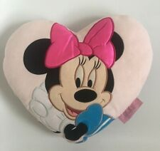 Rare Disney Minnie Mouse Cushion Pillow Disneyland Resort Paris