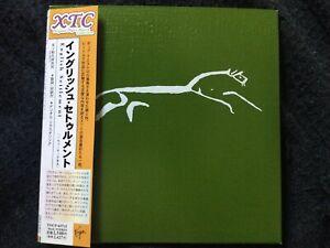 XTC - English Settlement Rare Japanese Paper Sleeve CD