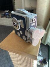 Vintage Eumig C3m 8mm 3 lens Movie Camera - Made In Austria