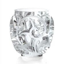 Lalique cristallo, Vaso Tourbillons. Altezza Cm.21
