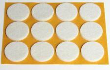 100 Filzgleiter selbstklebend weiss 30mm Möbelgleiter 3mm