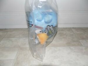 """Angry Birds Space - Blue Plush - Ice Bomb Cube - 5"""" with sound - BRAND NEW"""