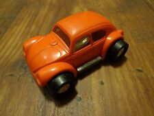 "OLD 2.5"" TONKA--ORANGE VOLKSWAGEN BEETLE BUG CAR (LOOK)"