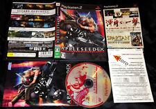 APPLESEED EX Sony PlayStation 2 PS2 Japones Completo Como Nuevo SEGA