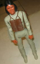 1960s MARX BEST OF THE WEST GERONIMO ACTION FIGURE  CLEAN WITH ARROW SATCHEL