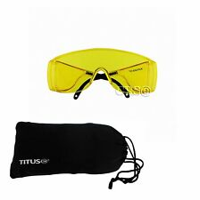Titus HD Fit Over Goggles Shooting Range Eye Protection Glasses OTG Motorcycle