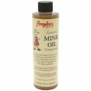 Angelus Genuine Mink Oil Compound Leder Conditioner Pflege 236ml (50,63 €/1 L)