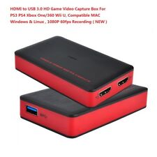 EZCAP HDMI Game Capture HD Box 1080P Video Capture Card For PS4 PS3 Xbox 360/One