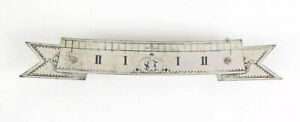 Standard Electric master clock fancy signed beat scale @ 1910 Original Excellent