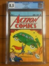 Action Comics #1 CGC 8.5 Loot Crate Edition FREE DOMESTIC SHIPPING!