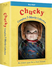 CHUCKY - COMPLETE 7 MOVIE COLLECTION - BLU RAY- Sealed Region free