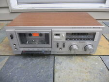 Vintage 1979 Sanyo RD-5008 Cassette Deck, One Owner, Good Operating Condition