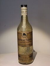 Mandarine Napoleon Liquor bottle(empty). Belgium.  Tangerine and Cognac.
