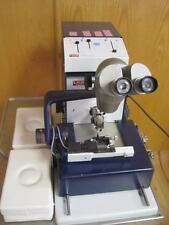 LKB BROMMA MICROTOME OLYMPUS MICROSCOPE ULTROTOME V W/ STAND 2088 CONTROLLER