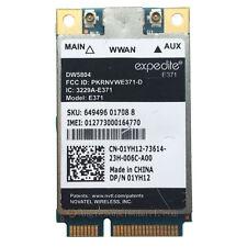 Dell Wireless DW5804 4G LTE/WWAN Mobile Broadband 01YH12 E371 PCI-E 3G/4G Card