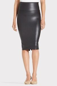 NWT Spanx Faux Leather Pencil Skirt Women's Size 2X / 2TG