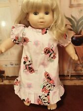 American Girl Bitty Twins Bitty Baby Nightgown Handmade Doll not included!