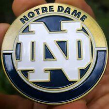 PREMIUM NCAA Notre Dame Fighting' Irish Poker Chip Card Guard Golf Marker Coin