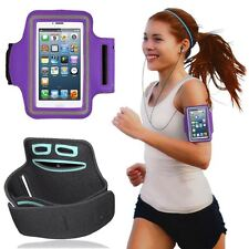 UK Sports Jogging Running Gym Armband Holder Bag Case Cover For Nokia Blackberry