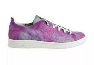 Adidas Pharrell Williams Stan Smith HU Holi MC Mens Shoes Coral DA9612 size 10.5