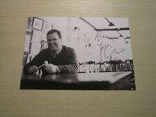 Paul Laidlaw (Bargain Hunt) hand signed RARE *FREE POST*