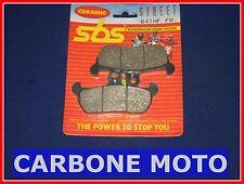 PASTIGLIE FRENO ANTERIORI SBS 641HF MOTO MORINI 501 COGUARO 1989