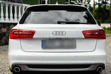Audi A6 C7 4G Avant SPOILER RS6 S 6 S6 S-Line TAILGATE REAR ROOF door cover RS