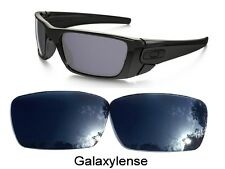 Galaxy Replacement Lenses For-Oakley Fuel Cell Sunglasse Black Iridium Polarize