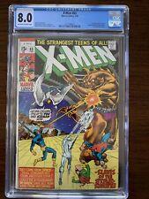 X-Men #65 CGC 8.0 (Marvel 1970)  Professor Xavier returns!