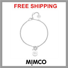MIMCO SILVER tone Charmer Bracelet NEW Authentic RRP $49.95 DF