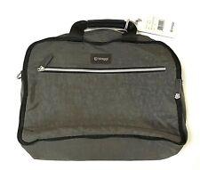 NWT Biaggi ZIPSAK REVERSIBLE MICRO-FOLD LAPTOP BAG Brand new Black Gray Tech