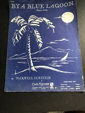 Buy A Blue Lagoon Piano Solo By Maxwell Eckstein
