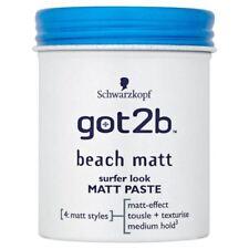 SchwarzkopfGot2B Plage Matt Look Surfeur Matt Paste (100Ml)