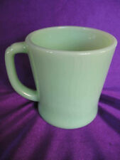2 FIRE KING USA JADEITE JADITE COFFEE MUGS CUPS