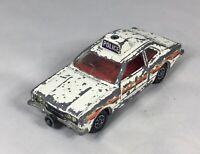 "Corgi Toys 4"" POLICE FORD CORTINA GXL Diecast Car WHIZZWHEELS"