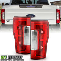 2017-2019 Ford F250 F350 SuperDuty w/o Blind Spot w/o LED Tail Lights Lamps Pair