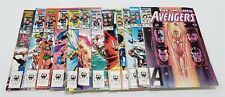 D14 VINTAGE 1980'S MARVEL COMICS THE MIGHTY AVENGERS LOT OF 12