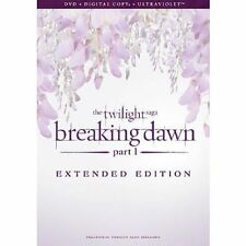 The Twilight Saga Breaking Dawn PT 1 Extended Edition (2013 Release) R1 DVD