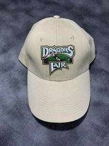 DAYTON DRAGONS MINOR LEAGUE BASEBALL CAP/HAT MENS LADIES BEIGE OSFM SPORTS