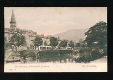 Derbyshire STARKHOLMES Promenade Gdns Derwent Used 1905 PPC
