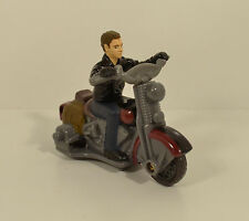 "2008 Mutt Williams Motorcycle 3.75"" Burger King Action Figure Indiana Jones"