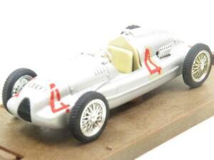 Brumm de Metal R109 Auto Union Tipo D HP 420 1938 Plata 1 43 Escala en Caja
