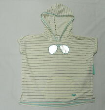 Roxy Girls Sweater Double Vision  Sz 10/M Short Sleeve