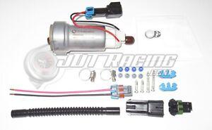 New Walbro TI Auto 525lph F90000285 Hellcat Fuel Pump & 400-1168 Install Kit E85
