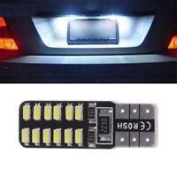 2PCS T10 168 194 W5W 3014 24SMD LED Canbus No Error Car Side Wedge Light White H