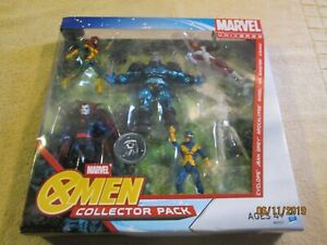 ToysRUS Exclusive HASBRO Marvel Universe X-MEN COLLECTOR PACK Action Figure SET