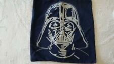 """POTTERY BARN KIDS STAR WARS DARTH VADER EMBROIDERED THROW PILLOW COVER,19"""",BLUE"""