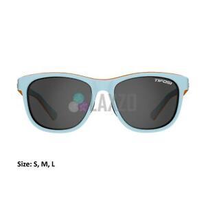 Tifosi Swank Single Lense Sports Eyewear Tangerine Sky/Smoke