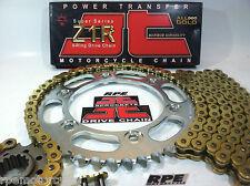 '92/99 Honda CBR900rr JT Z1R 525 GOLD X-RING CHAIN AND SPROCKETS KIT OEM or QA